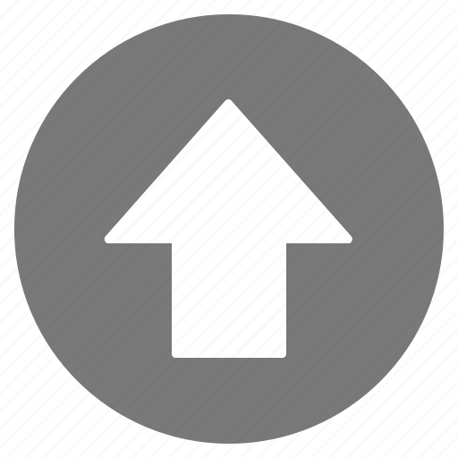 arrow, direction, gps, grey, location, navigation, up icon