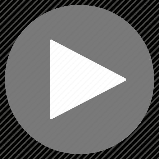 btn, grey, music, play icon
