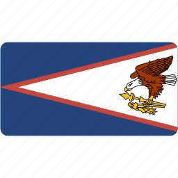 american, country, flag, flags, national, rectangle, rectangular, samoa, world icon