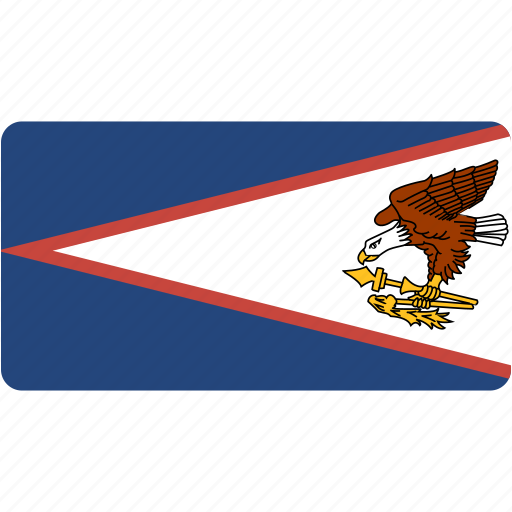 american, country, flag, flags, national, rectangle, rectangular, samoa, world icon