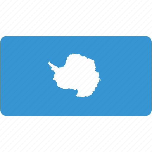 antarctica, country, flag, flags, national, rectangle, rectangular, world icon