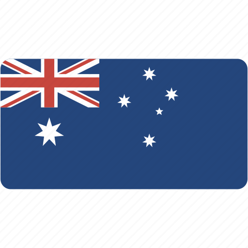 australia, country, flag, flags, national, rectangle, rectangular, world icon