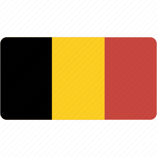 belgium, country, flag, flags, national, rectangle, rectangular, world icon