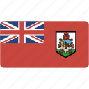 bermuda, country, flag, flags, national, rectangle, rectangular, world icon