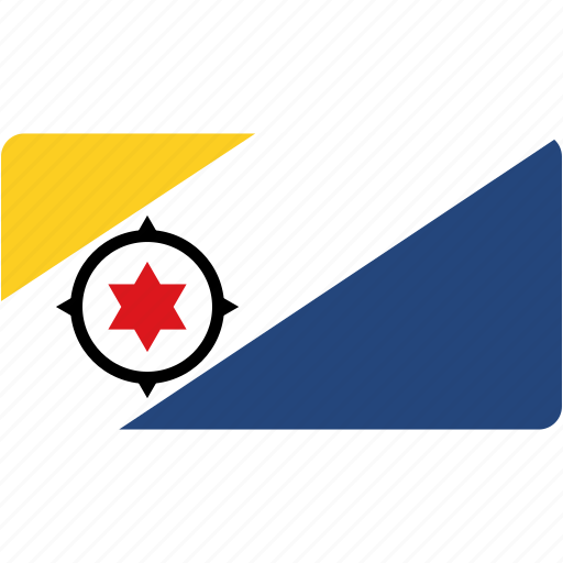 bonaire, country, flag, flags, national, rectangle, rectangular, world icon