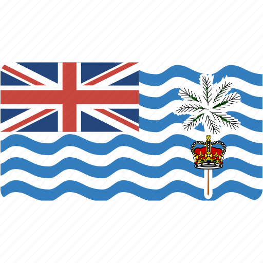 british, country, flag, flags, indian, national, ocean, rectangle, rectangular, territory, world icon
