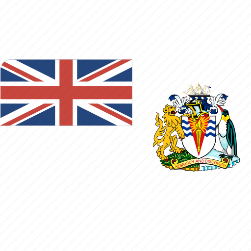 antarctic, british, country, flag, flags, national, rectangle, rectangular, world icon
