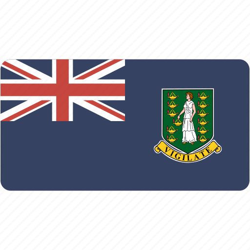 british, country, flag, flags, national, rectangle, rectangular, virgin, world icon