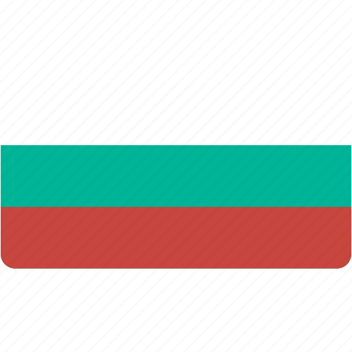 bulgaria, country, flag, flags, national, rectangle, rectangular, world icon