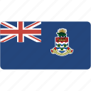 cayman, country, flag, flags, islands, national, rectangle, rectangular, world icon