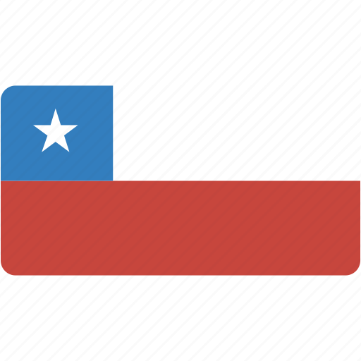 chile, country, flag, flags, national, rectangle, rectangular, world icon