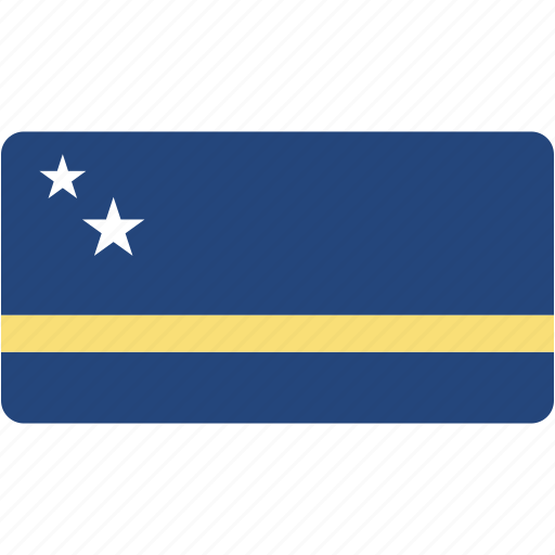 country, curacao, flag, flags, national, rectangle, rectangular, world icon