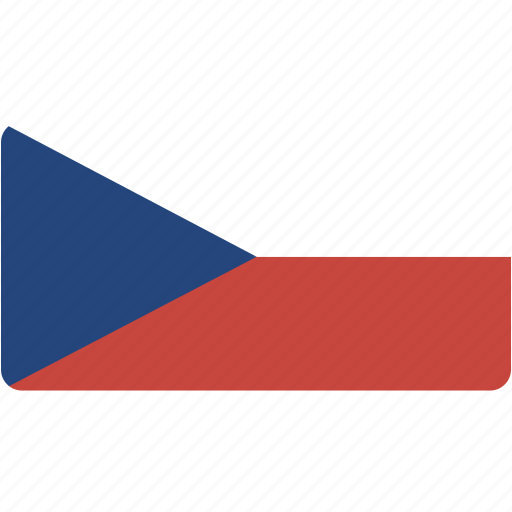country, czech, flag, flags, national, rectangle, rectangular, republic, world icon