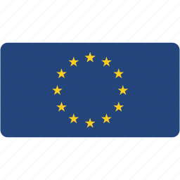 country, european, flag, flags, national, rectangle, rectangular, union, world icon