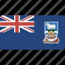 falkland, flag, islands, rectangular, country, flags, national
