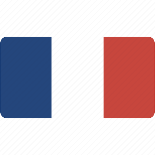country, flag, flags, france, national, rectangle, rectangular, world icon