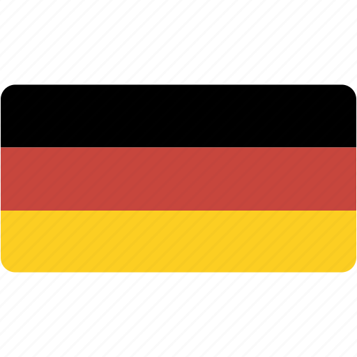 country, flag, flags, germany, national, rectangle, rectangular, world icon