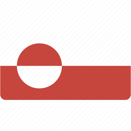 country, flag, flags, greenland, national, rectangle, rectangular, world icon
