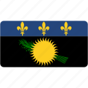 flag, guadeloupe, rectangular, country, flags, national, rectangle