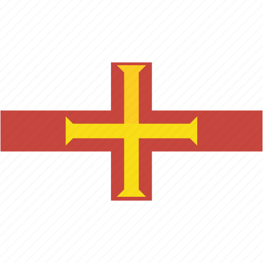 country, flag, flags, guernsey, national, rectangle, rectangular, world icon