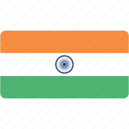 country, flag, flags, india, national, rectangle, rectangular, world icon