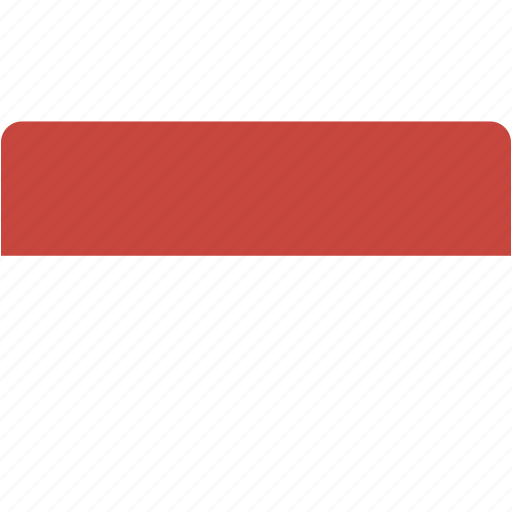 country, flag, flags, indonesia, national, rectangle, rectangular, world icon