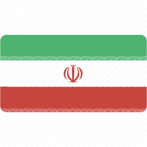 country, flag, flags, iran, national, rectangle, rectangular, world icon