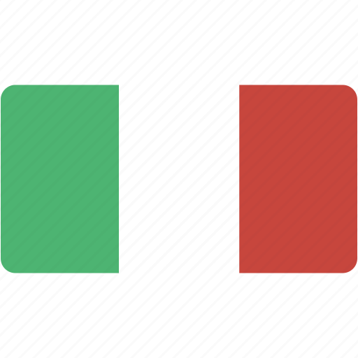 country, flag, flags, italy, national, rectangle, rectangular, world icon