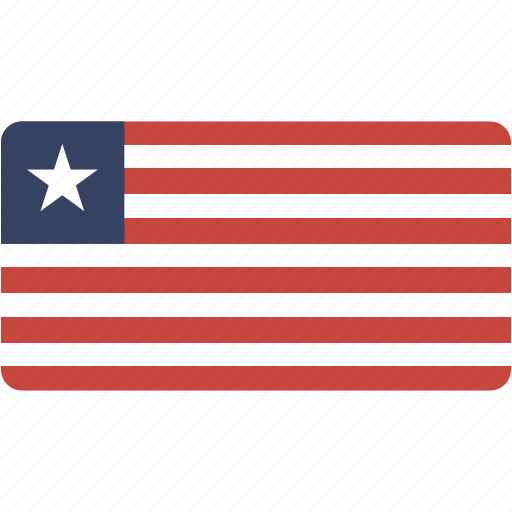 country, flag, flags, liberia, national, rectangle, rectangular, world icon