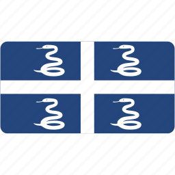 country, flag, flags, martinique, national, rectangle, rectangular, world icon