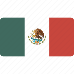 country, flag, flags, mexico, national, rectangle, rectangular, world icon