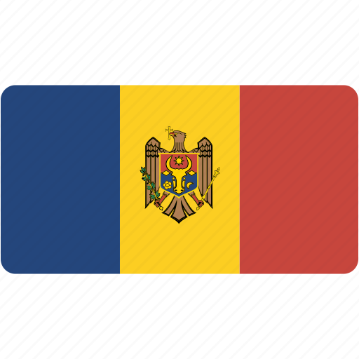 country, flag, flags, moldova, national, rectangle, rectangular, world icon