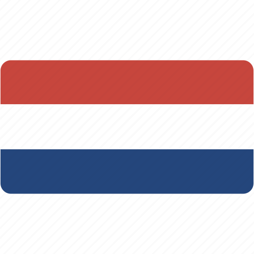 country, flag, flags, national, netherlands, rectangle, rectangular, world icon