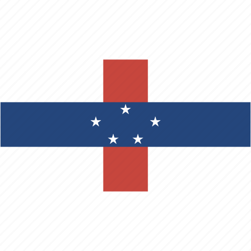antilles, country, flag, flags, national, netherlands, rectangle, rectangular, world icon