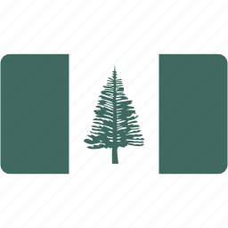 country, flag, flags, island, national, norfolk, rectangle, rectangular, world icon