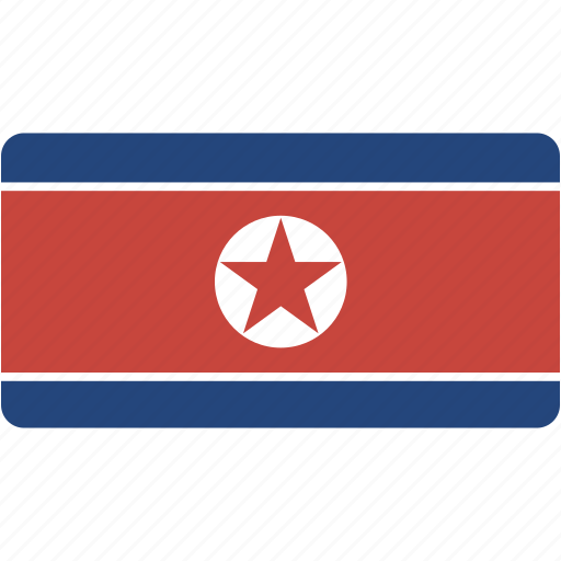 country, flag, flags, korea, national, north, rectangle, rectangular, world icon