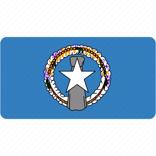 country, flag, flags, mariana, national, northern, rectangle, rectangular icon