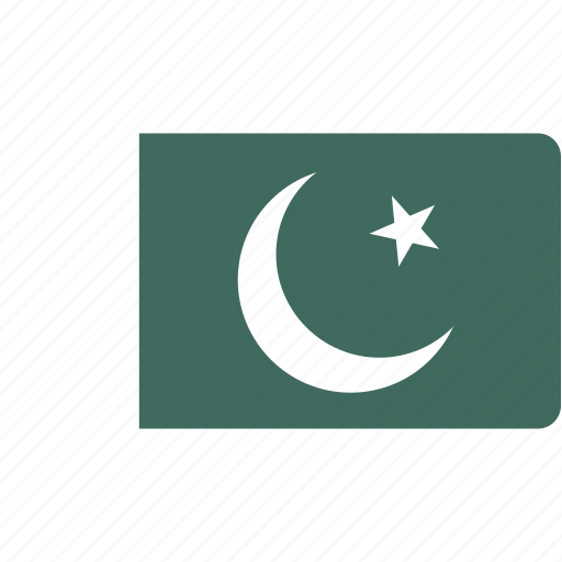 country, flag, flags, national, pakistan, rectangle, rectangular, world icon