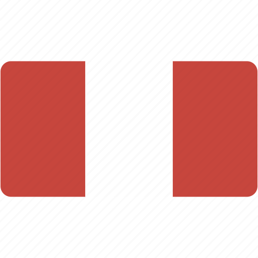 country, flag, flags, national, peru, rectangle, rectangular, world icon