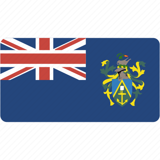 country, flag, flags, national, pitcairn, rectangle, rectangular, world icon