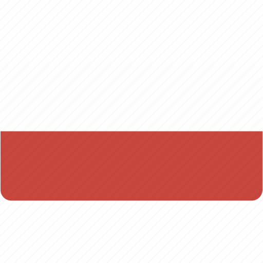 country, flag, flags, national, poland, rectangle, rectangular, world icon