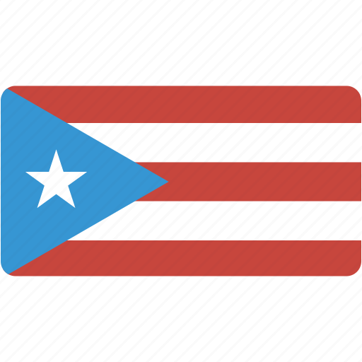country, flag, flags, national, puerto, rectangle, rectangular, rico, world icon