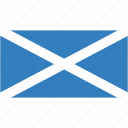 country, flag, flags, national, rectangle, rectangular, scotland, world icon