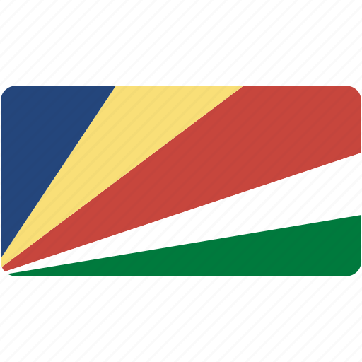country, flag, flags, national, rectangle, rectangular, seychelles, world icon