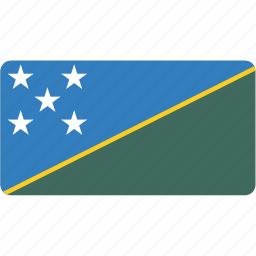 country, flag, flags, islands, national, rectangle, rectangular, solomon, world icon
