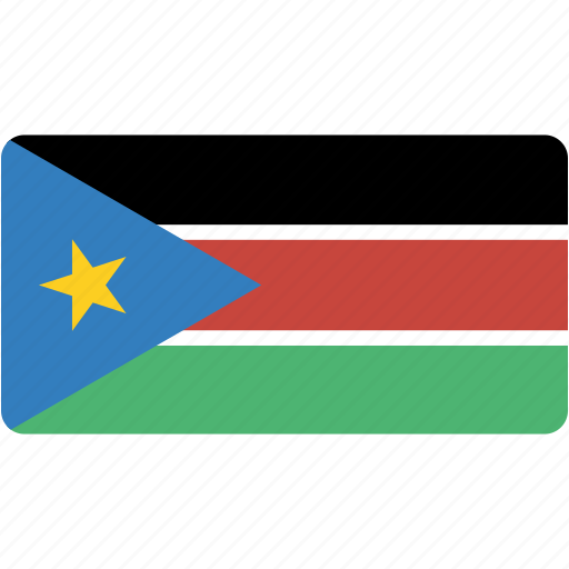 South, sudan, country, flag, flags, national, rectangle icon - Download on Iconfinder
