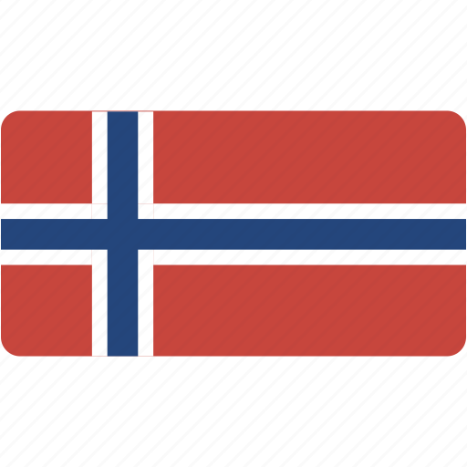 country, flag, flags, national, rectangle, rectangular, svalbard, world icon