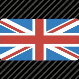 country, flag, flags, kingdom, national, rectangle, rectangular, uk, united icon