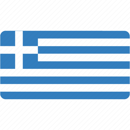 country, flag, flags, greece, national, rectangle, rectangular, world icon