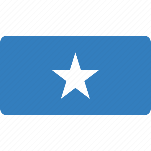 country, flag, flags, national, rectangle, rectangular, somalia, world icon